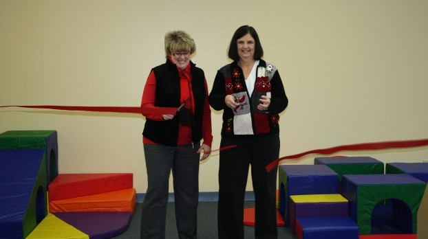 CEO's Stepping Stones II Opens New Play Room