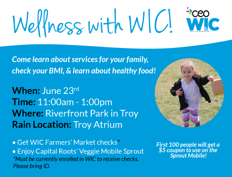 WIC's Community Wellness Event