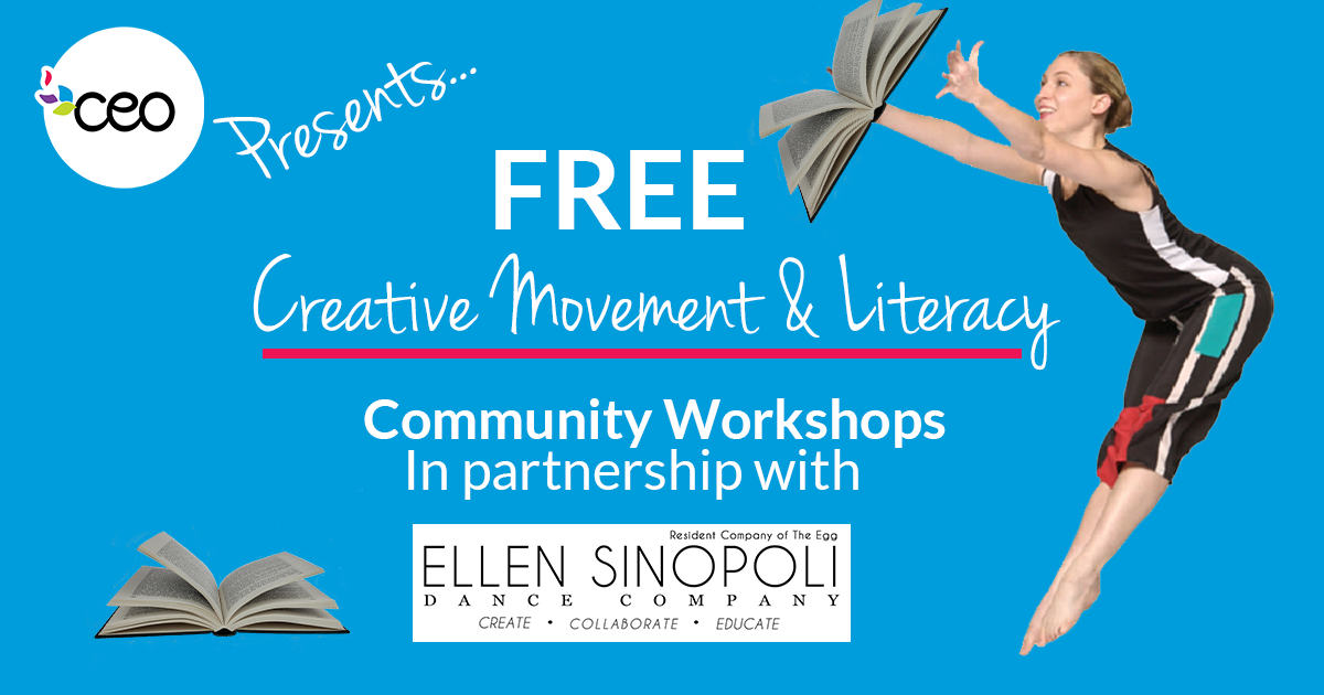 Free Creative Movement & Literacy Workshop