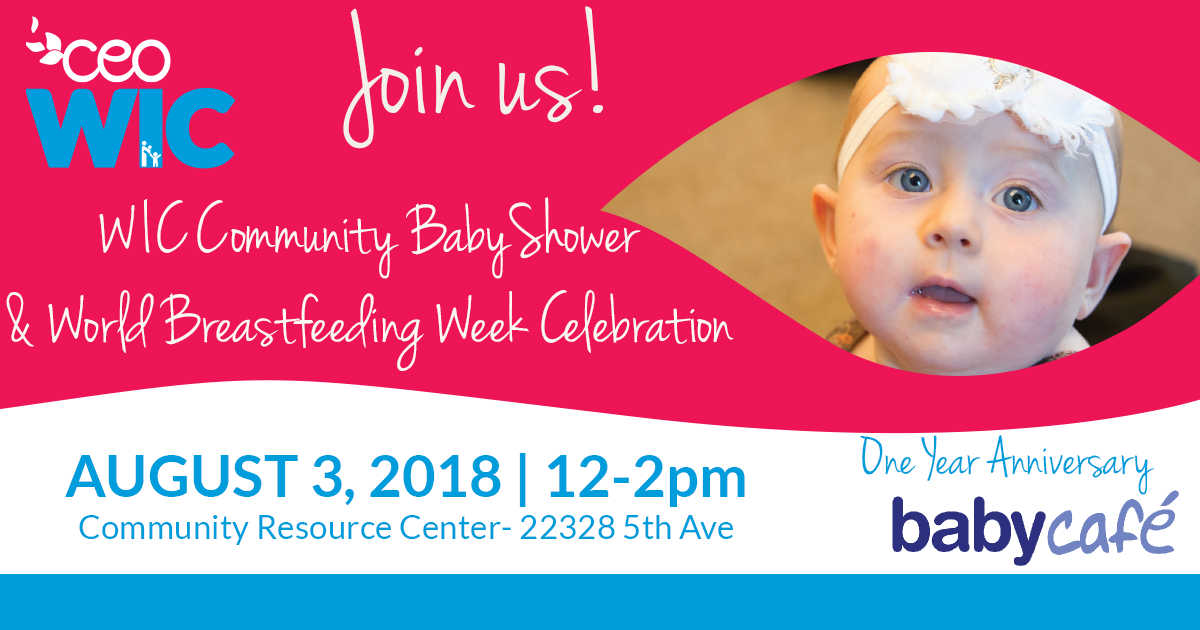 WIC Community Baby Shower