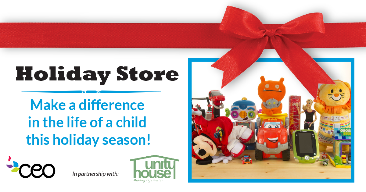 Donate to the Holiday Store!