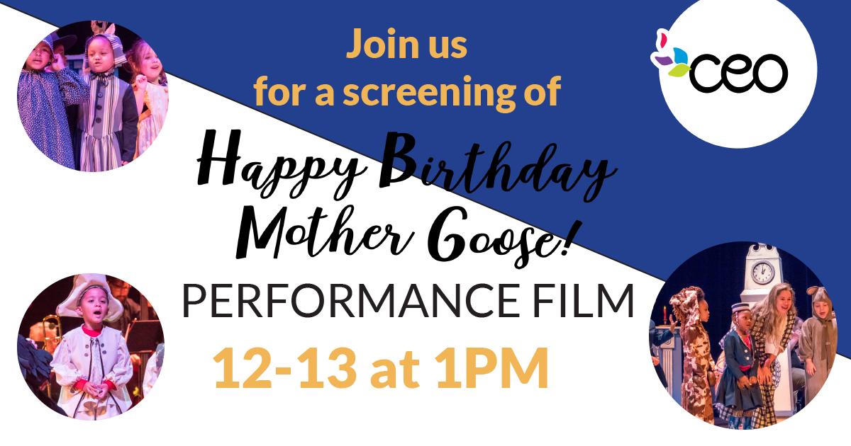 Happy Birthday Mother Goose Film Screening