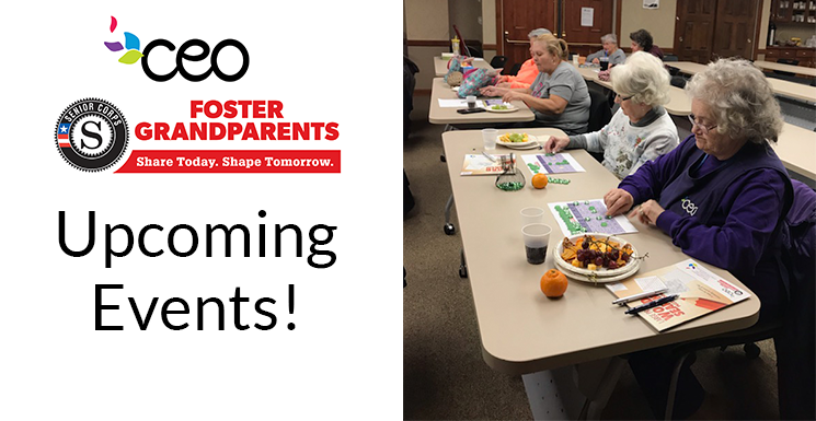 Foster Grandparent Upcoming Events
