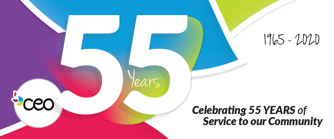 Celebrating 55 YEARS of Service to our Community (1962-2020)