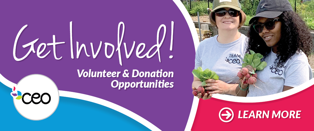 Get Involved! Volunteer & Donation Opportunities at CEO