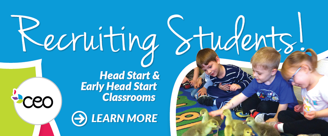 Recruiting Students! Head Start & Early Head Start Classrooms