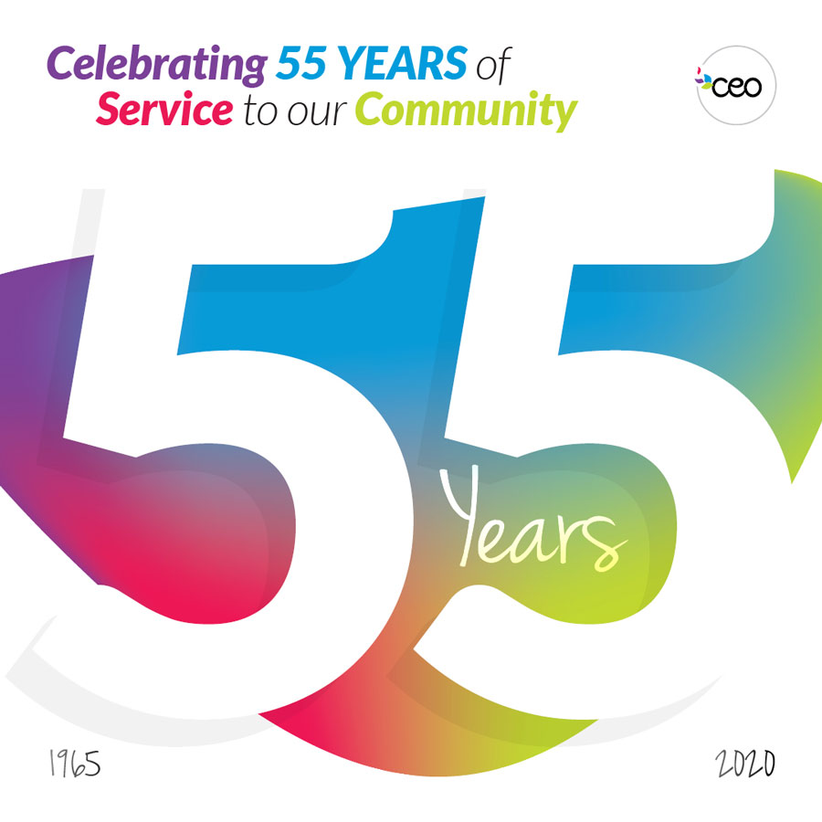 CEO is Celebrating 55 Years!